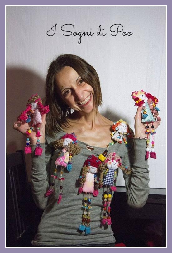 Silvia e le sue bamboline acchiappasogni