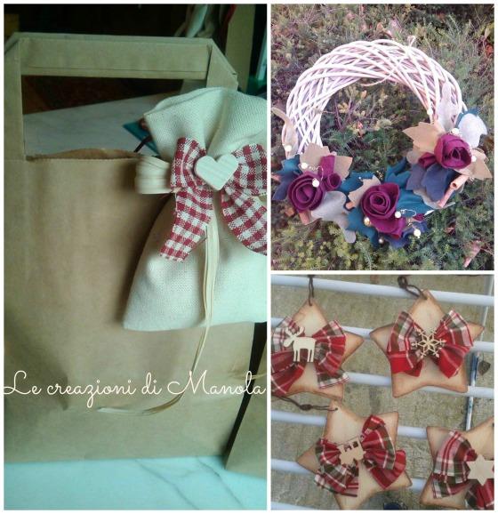 Sacchetti, decorazioni e ghirlande