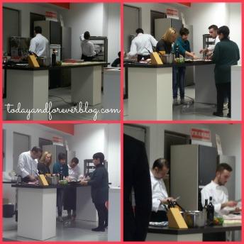 A lezione con Chef Alessandro Dentone!